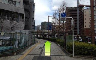 4)再び国道1号線に沿って横浜方面へ約30m