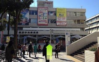 4)横浜中央郵便局方向へ