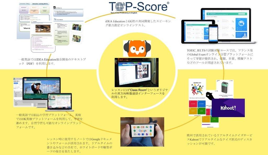 オンライン完結型の教材やアセスメントテストで学習管理