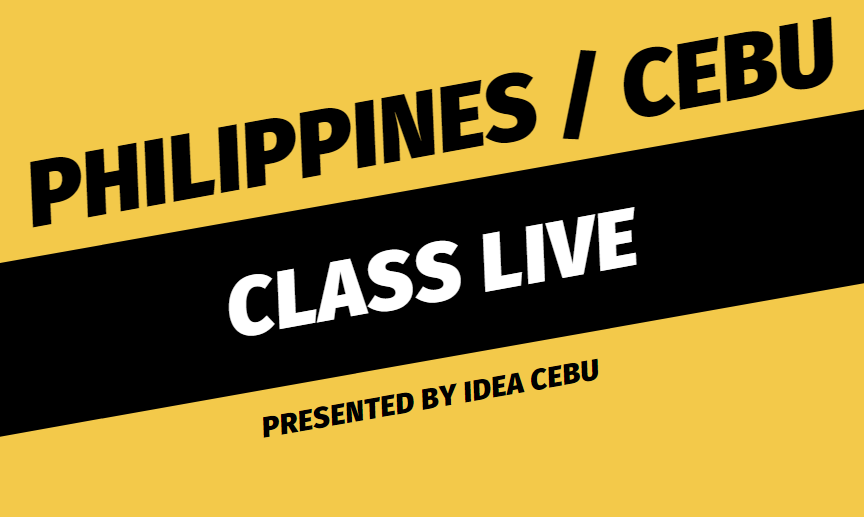 CLASS LIVE ONLINE, IDEA CEBU ONLINE, IDEA EDUCATION ONLINE