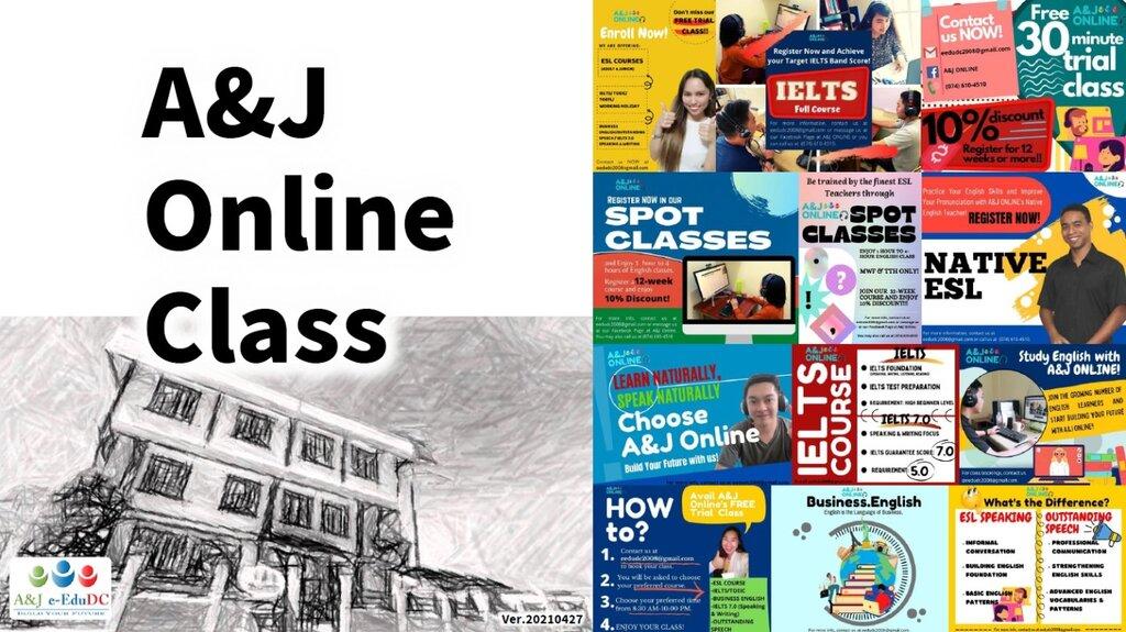 A&J e-Edu DC Academy Online, A&J Online